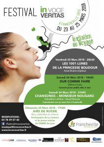 FESTIVAL IN VOCE VERITAS 2018 @ IRIS (Salle Barbara) | Francheville | Auvergne-Rhône-Alpes | France